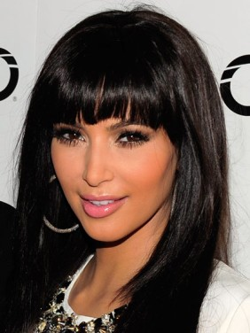 hairstyles-with-bangs-kim-kardashian-clip-in-bangs