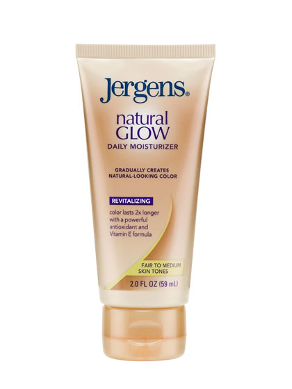 Can I Put Jergens Natural Glow On Face